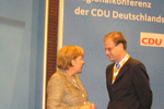 Tibor Navracsics in Rhineland-Palatinate at CDU's Debate of the Party Manifesto