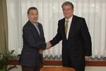 Viktor Orbán Met Albanian PM, Sali Berisha